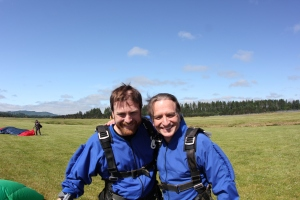 Father/Son skydive