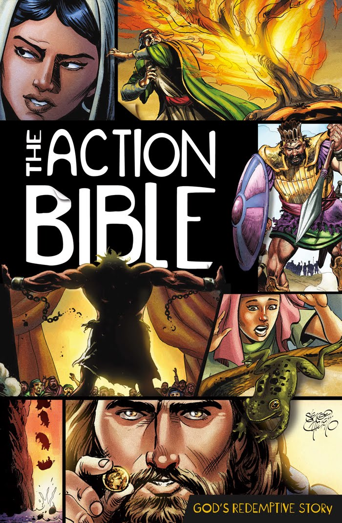 Picture Bible Comic Bible Which is a Comic